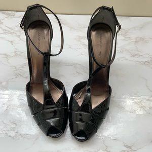 Black Patent Leather Heels Size 9